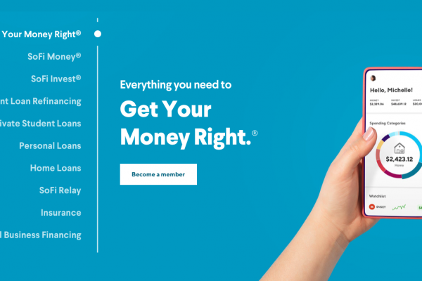 SoFi Financial: Get the most out of your Money, Invest, and Loan Accounts!