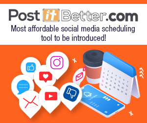 PostItBetter.com - The most affordable social media scheduling tool!